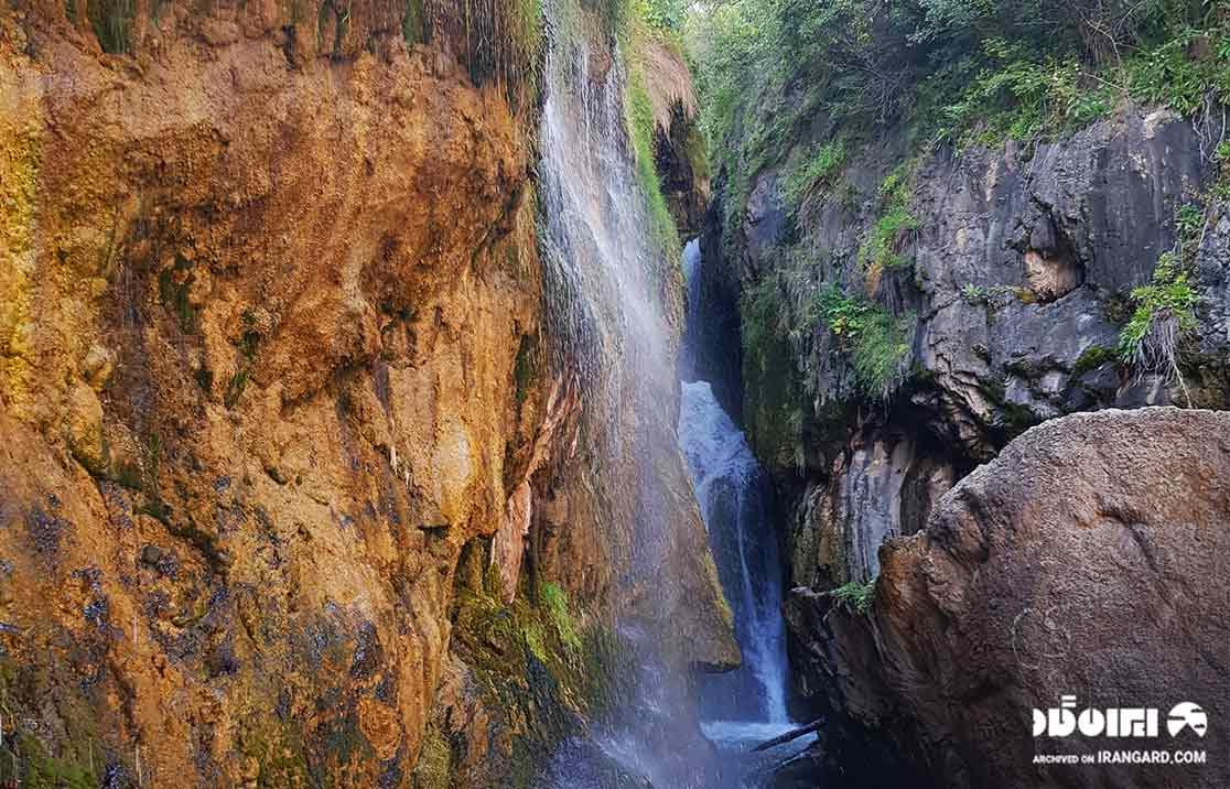 مهرفی آبشار گل آخور