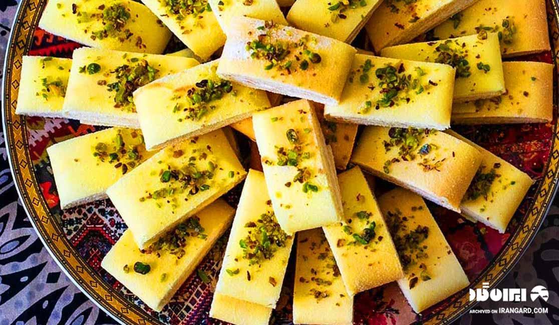 کاک از سوغاتی های کرمانشاه