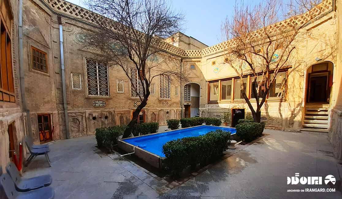 خانه تاریخی ملک در بازار تهران