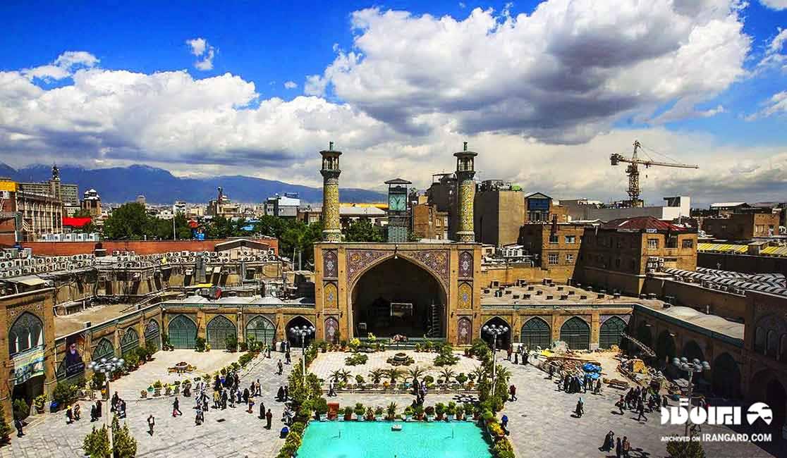 مسجد امام در بازار تهران