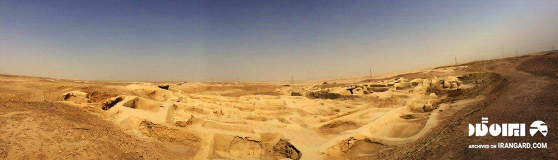 منطقه باستانی سوخته در زابل