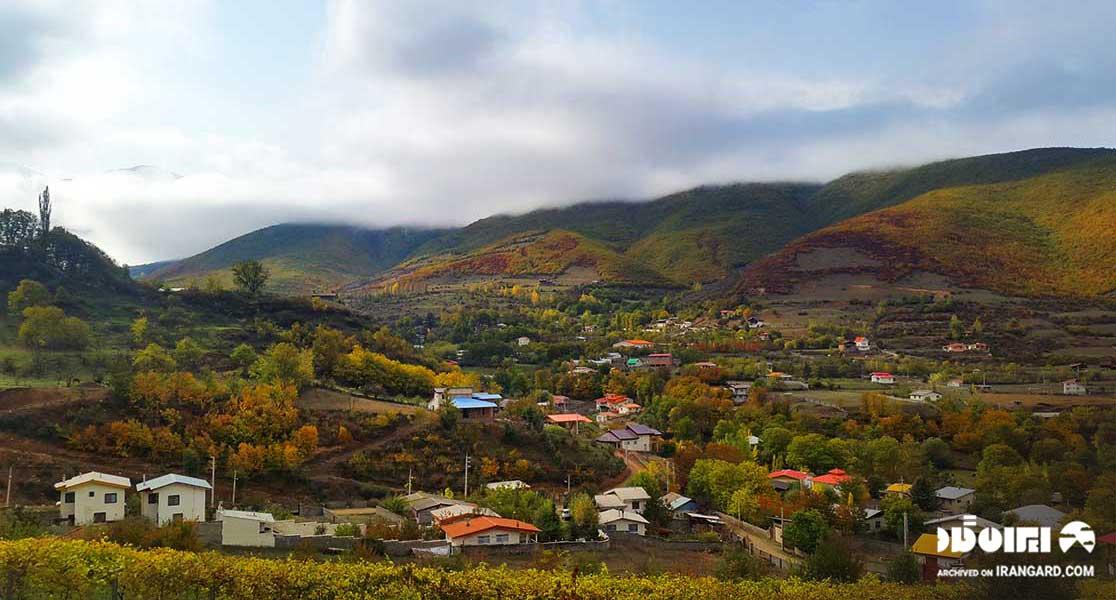 روستای کندولوس از جاهای دیدنی نوشهر