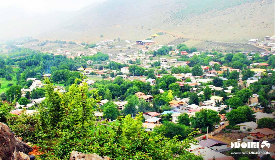 روستای لرگان در نزدیکی نوشهر