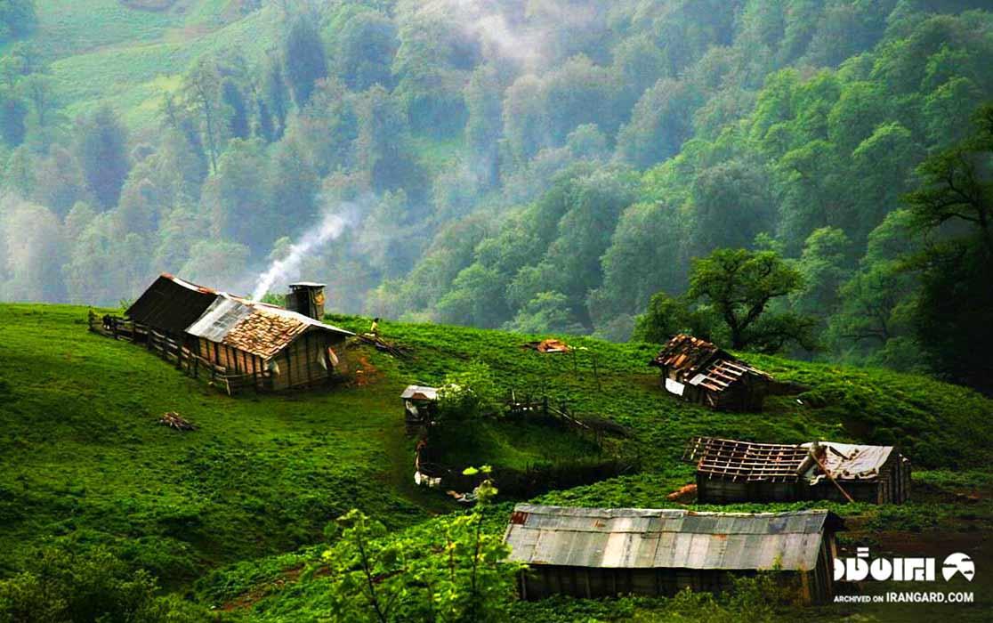 اجاره کلبه جنگلی در ماسال