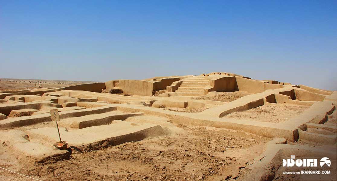 منطقه باستانی سوخته در نزدیکی زابل