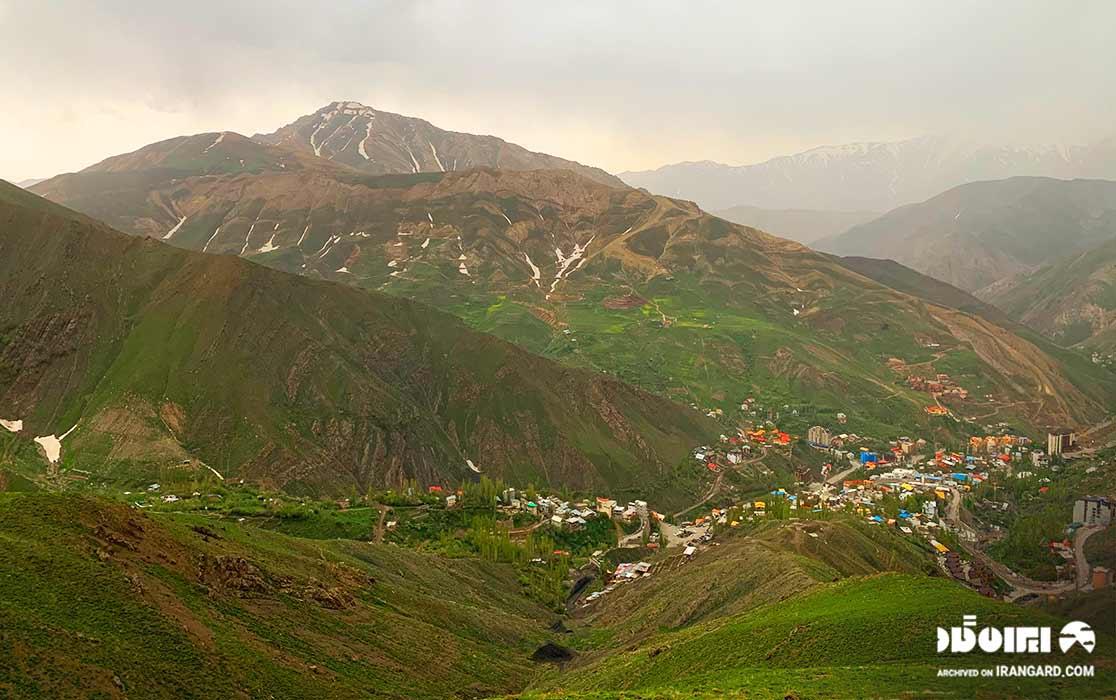 شهر شمشک در نزدیکی تهران