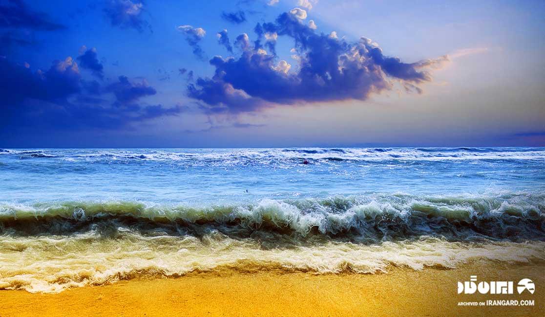 ساحل جزیره قشم