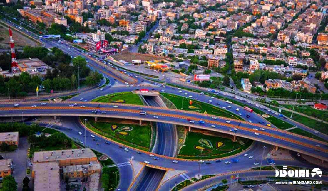 شهرستان شهریار در نزدیکی تهران